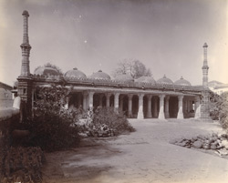 General view of Shah Khub Sayyid's Mosque, Ahmadabad